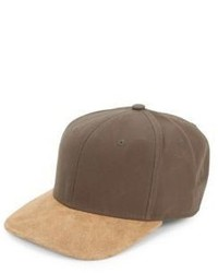 Casquette de base-ball marron