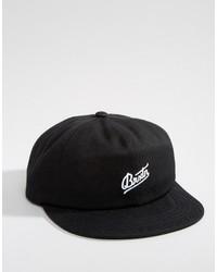 Casquette de base-ball noir Brixton