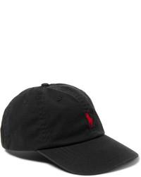 Casquette de base-ball noir Polo Ralph Lauren