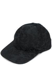 Casquette de base-ball noire Dolce & Gabbana