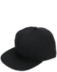 Casquette de base-ball noire DSQUARED2
