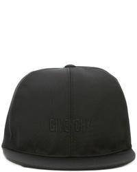 Casquette de base-ball noire Givenchy