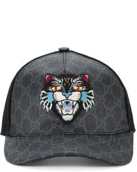 Casquette de base-ball noire Gucci