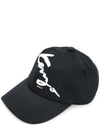 Casquette de base-ball noire Kenzo