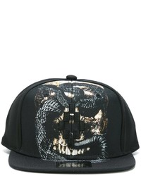 Casquette de base-ball noire Marcelo Burlon County of Milan
