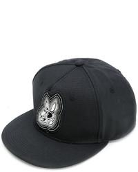 Casquette de base-ball noire McQ