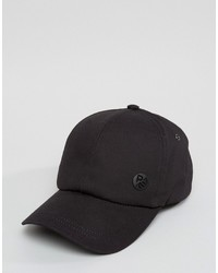 Casquette de base-ball noire Paul Smith