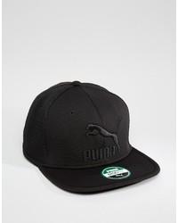 Casquette de base-ball noire Puma