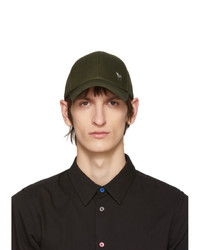 Casquette de base-ball olive Ps By Paul Smith