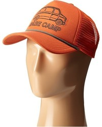 Casquette de base-ball orange