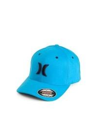 Casquette de base-ball turquoise