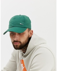 Casquette de base-ball verte Nike
