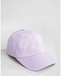 Casquette de base-ball violet clair Asos