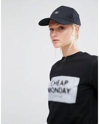 Casquette imprimée noire Cheap Monday