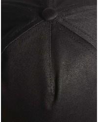 Casquette noire Asos