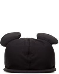 Casquette noire Federica Moretti