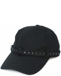 Casquette noire MOSTLY HEARD RARELY SEEN