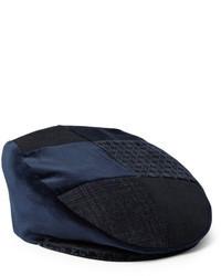 Casquette plate bleu marine Etro
