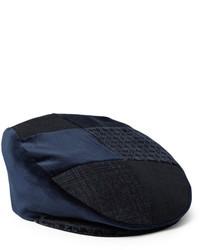 Casquette plate bleue Etro