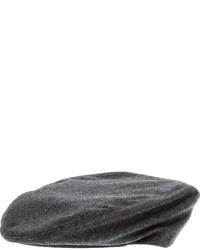 Casquette plate gris foncé Dondup