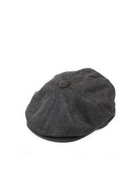 Casquette plate gris foncé Wholesale Hats