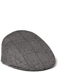 Casquette plate grise