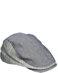 Casquette plate grise Ted Baker