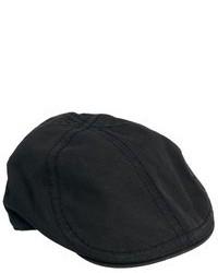 Casquette plate noire Goorin Bros.