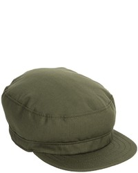 Casquette plate olive