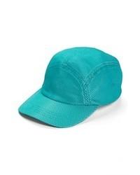 Casquette turquoise