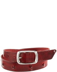 Ceinture bordeaux Blank And Studs by Dean Vincent