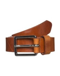 Ceinture en cuir brun Royal Republiq