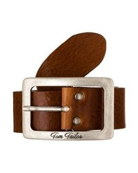 Ceinture en cuir brune Tom Tailor