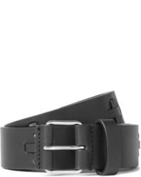 Ceinture en cuir noire Givenchy