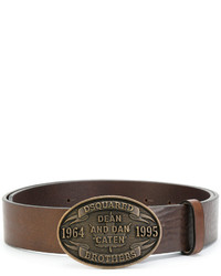 Ceinture marron DSQUARED2