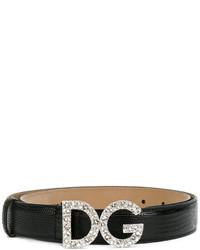 Ceinture noire Dolce & Gabbana