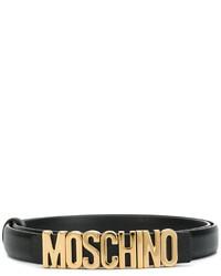 Ceinture noire Moschino