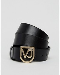 Ceinture noire Versace
