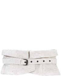Ceinture serre-taille blanche Isabel Marant