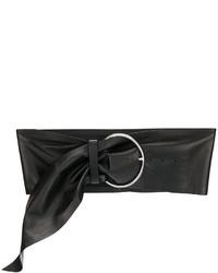 Ceinture serre-taille noire IRO