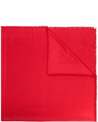 Châle rouge Fendi
