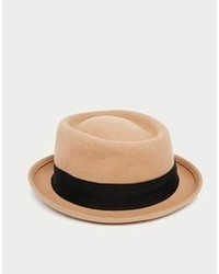 Chapeau beige Asos
