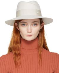 Chapeau blanc Maison Michel