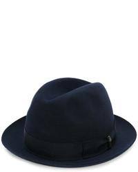 Chapeau bleu marine Borsalino