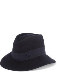Chapeau bleu marine Maison Michel