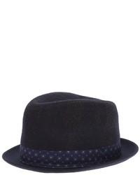 Chapeau bleu marine Paul Smith