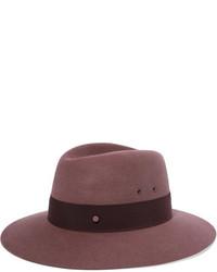 Chapeau bordeaux Maison Michel