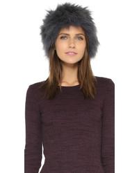 Chapeau de fourrure gris Jocelyn