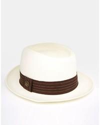 Chapeau de paille beige Goorin Bros.