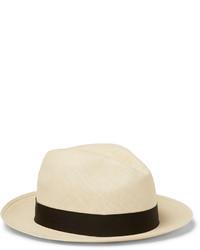 Chapeau de paille beige Lock & Co Hatters